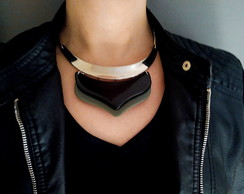 Colar Choker Fashion