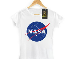Camiseta Nasa Feminina Moda Tumblr