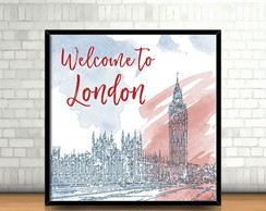 Quadro Welcome to London