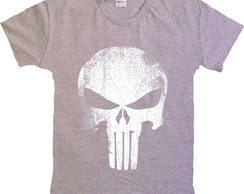 ... Camiseta Herois Marvel - Justiceiro Punisher - 100% Algodão 5be31c5d53faa