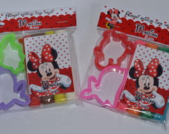 Kit Massinha e Moldes Minnie