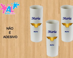 Copos Long Drink Personalizados 350ML - Mulher Maravilha 2