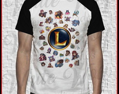 Camiseta do League of legends