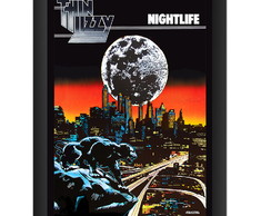 Quadro Thin Lizzy Nightlife Banda Hard Rock Classico Musica