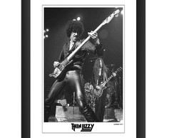 Quadro Thin Lizzy Phil Lynott Live 77 London Banda Rock