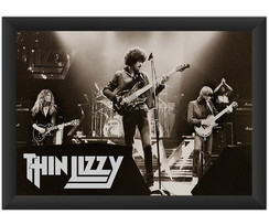 Quadro Thin Lizzy Phil Lynott Band Hard Rock Classic Musica