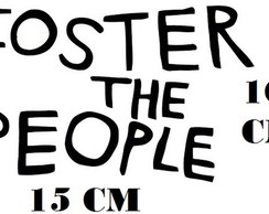 Adesivo Banda Foster The People Indie Rock Frete Grátis
