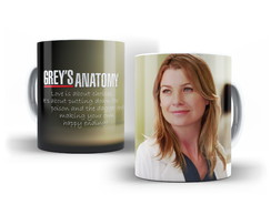 Caneca Grey´s Anatomy - Meredith Grey