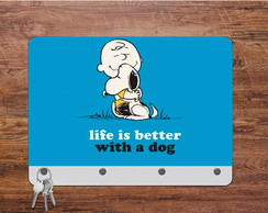 Porta Chaves MDF Snoopy