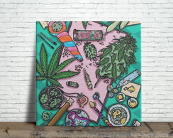 Azulejo Decorativo - Cannabis Grower Weed