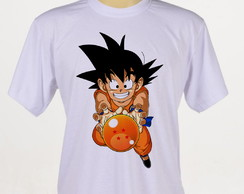 camiseta Goku Dragon ball Infantil