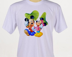 camiseta mickey e minnie infantil