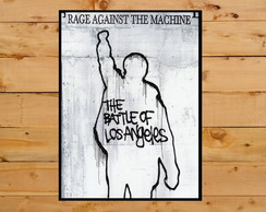 Poster Quadro Cartaz Rage Against the Machine 30x42 Cm A3