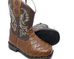d4c47985d4ab38 Bota Country Bebe Ki Fofo Texana Cowboy | Elo7