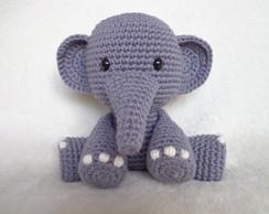 Amigurumi crochet pattern (English) - Ellie the elephant ... | 194x244