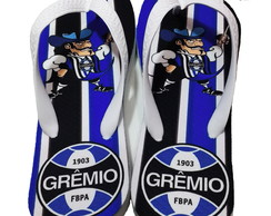 Chinelo Personalizado do Time Grêmio