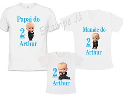 Camisetas do Poderoso Chefão Chefona Camiseta do Chefinho