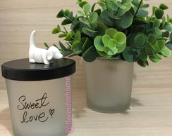 Pote Cut Dog Sweet Love