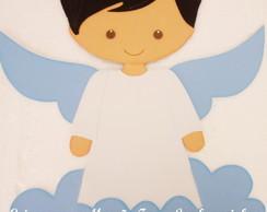 Painel Batizado Anjos Em Eva Menina Elo7
