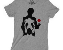 Camiseta Baby Look Animes Death Note Kira L Ryuk Light