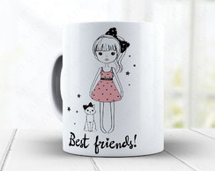 Caneca Cat Lover - Gato Cute 1410g