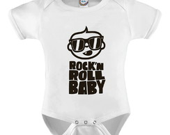 Body Infantil Rock Roll Baby