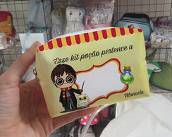 Mini Necessaire Harry Potter Kit Higiene Escolar