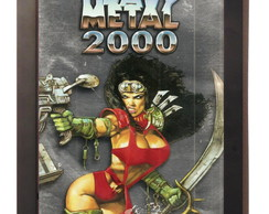 Quadro Poster Com Moldura Heavy Metal 2000 Movie Film
