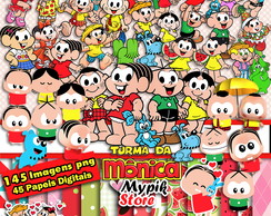 Super Kit Digital Turma da Monica e Turma Toy