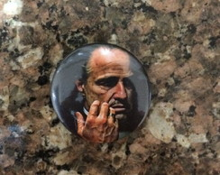 Botton/Broche Don corleone