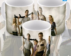 Caneca Seriado The Walking Dead Primeira Temporada