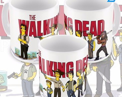Caneca The Walking Dead Simpsonizado Simpsons
