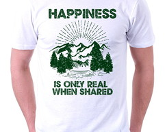 CAMISETA MASCULINA - HAPPINESS