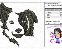 Matriz para Bordado - Border Collie Bordado(.PES, .DST .XXX)
