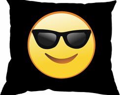 Almofada Emoji Oculos de Sol   Elo7 c1e5f6af7c