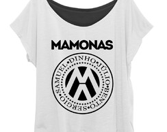 T-shirt Blusinha Feminina Plus Size Banda Mamonas Assassinas