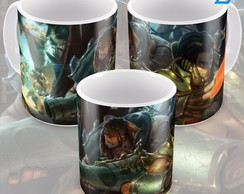 Caneca League Of Legends Twisted Fate Punguista