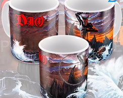 Caneca Banda Dio Heavy Metal Ronnie James Dio Capa Album