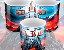 Caneca Banda De Heavy Metal Dio Ronnie James Dio Capa Album