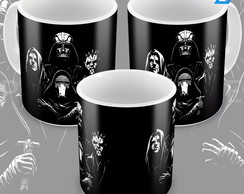 Caneca Star Wars The Dark Side Darth Vader E Lord Sidios 3