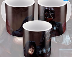 Caneca Star Wars The Dark Side Darth Vader E Lord Sidios 2