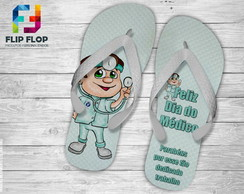 CHINELO PERSONALIZADO DIA DO MEDICO