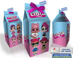 Caixa Milk Grande - LOL Surprise