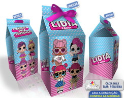 Caixa Milk Pequena - LOL Surprise