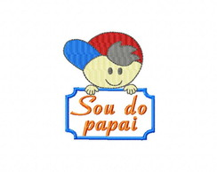 Sou do Papai PES - Matriz para Bordados