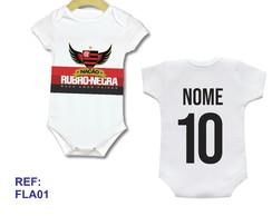 9fc6abdc46 ... Body Infantil Personalizado Camisa Do Flamengo Com Nome!