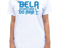 CAMISETA LONG - BELA DESBOCADA DO MAR