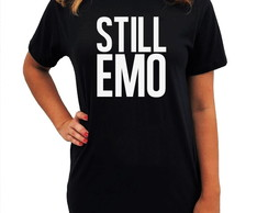 CAMISETA LONG - STILL EMO