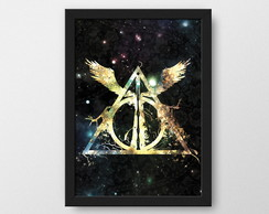 Harry Potter - Quadro decorativo Geek