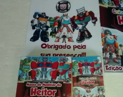 Kit para colorir e brincar - Transformers